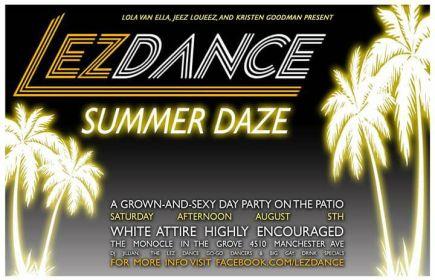 STL- LEZ DANCE- Aug 5
