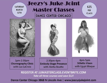 CHICAGO- Juke Joint Master Classes