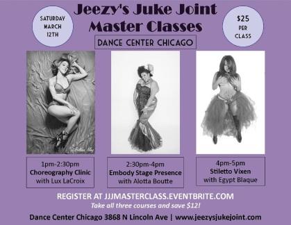 CHICAGO- Juke Joint Master Classes