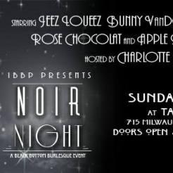 noir night Banner
