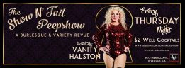 11/24 (Riverside) Show N' Tail Peepshow