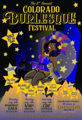 Colorado Burlesque Festival July 12th-15th (DENVER)