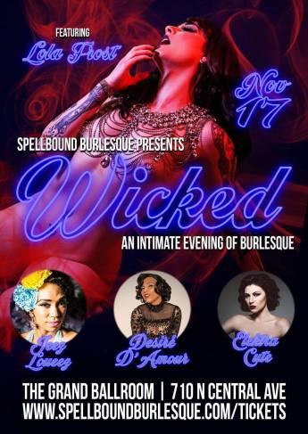 PHOENIX - Spellboun Burlesque Presents: WICKED 11/17
