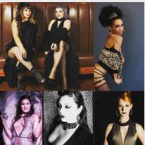 Parlor Tricks Burlesque - February 12th featuring Lilly Rascal, Fae Beguile, Jeez Loueez, Kitty la Royall, Sio Bast, & Lady Jack