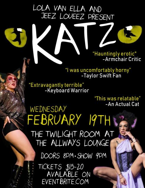 New Orleans - February 19th -KATZ! at The Allways Lounge