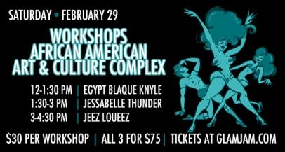 SF - February 29th - Jeezy's Juke Joint Workshops